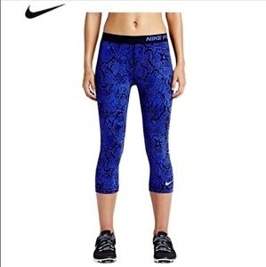 Nike Pro Fit Compression Crop Pants Medium